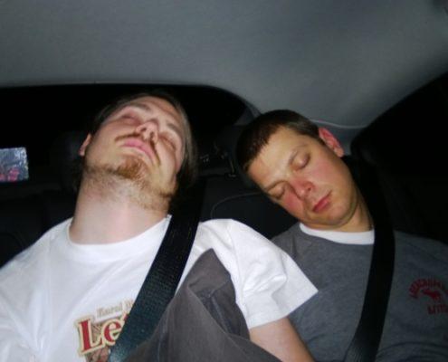Dzień 4 - Karol i Witek po targach odsypiali