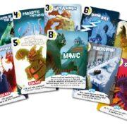 Przykładowe karty z gry (autorka: Patrice)